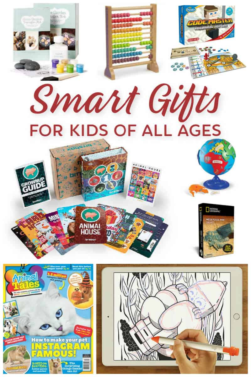 Smart Gifts for Kids of all Ages