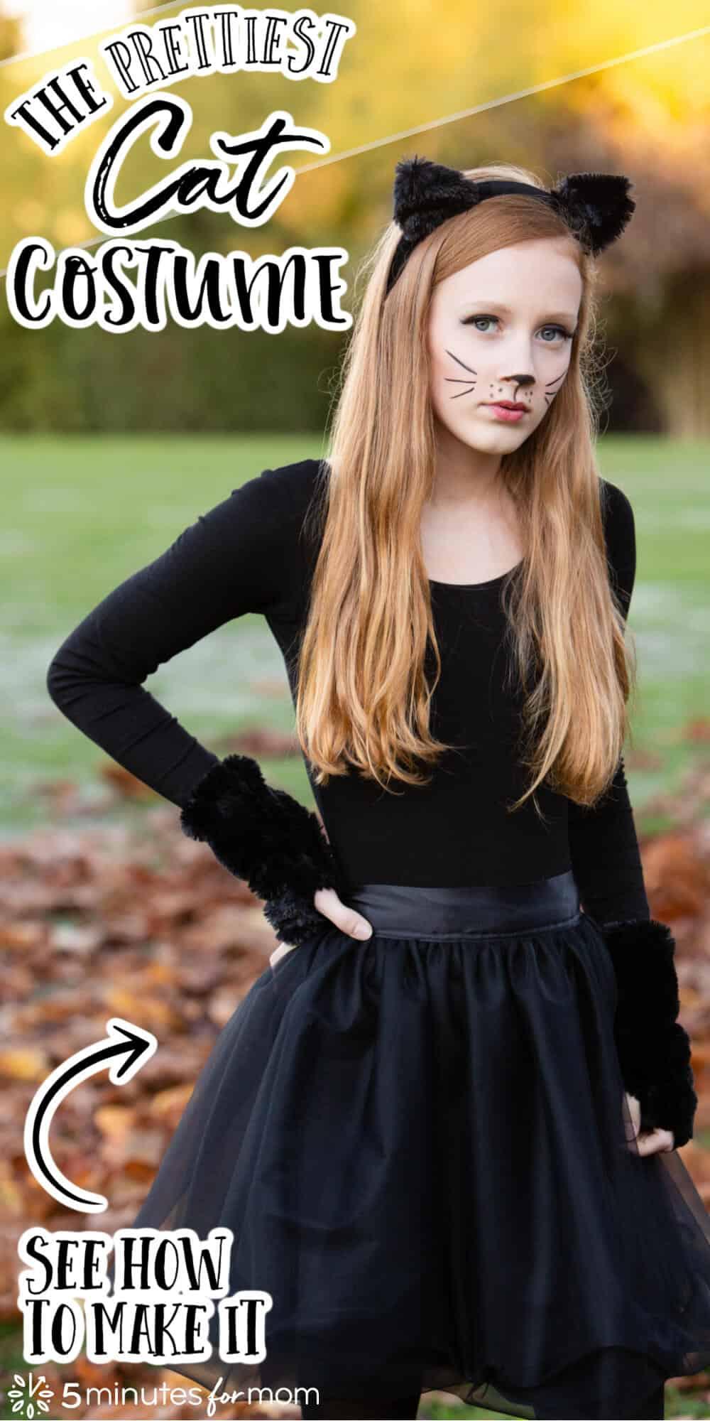 The Prettiest Cat Costume - DIY Halloween Costume