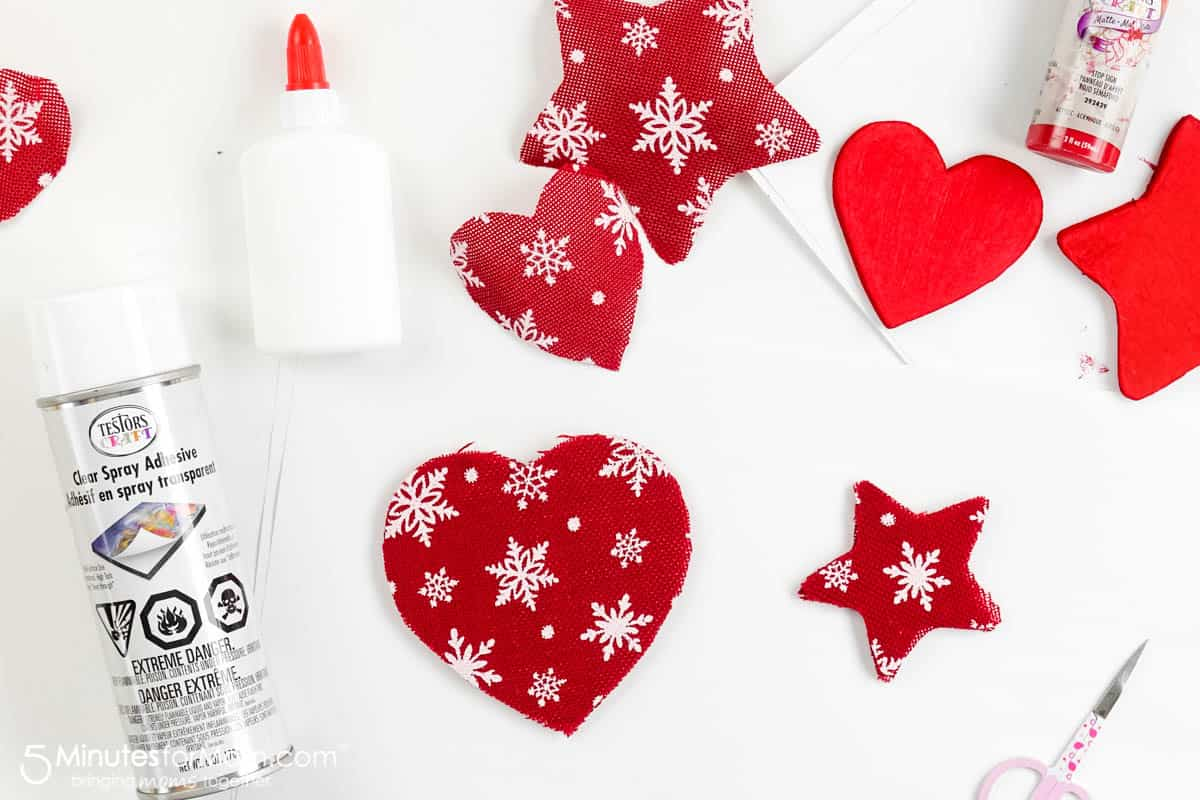 How to make DIY Christmas Ornaments with Foam Core