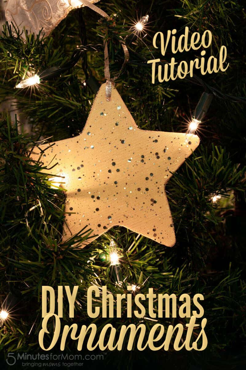 DIY Christmas Ornaments with Video Tutorial