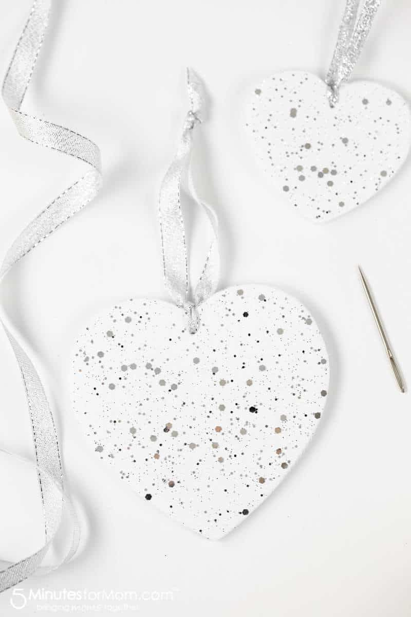 How to make DIY Foam Core Christmas Ornaments