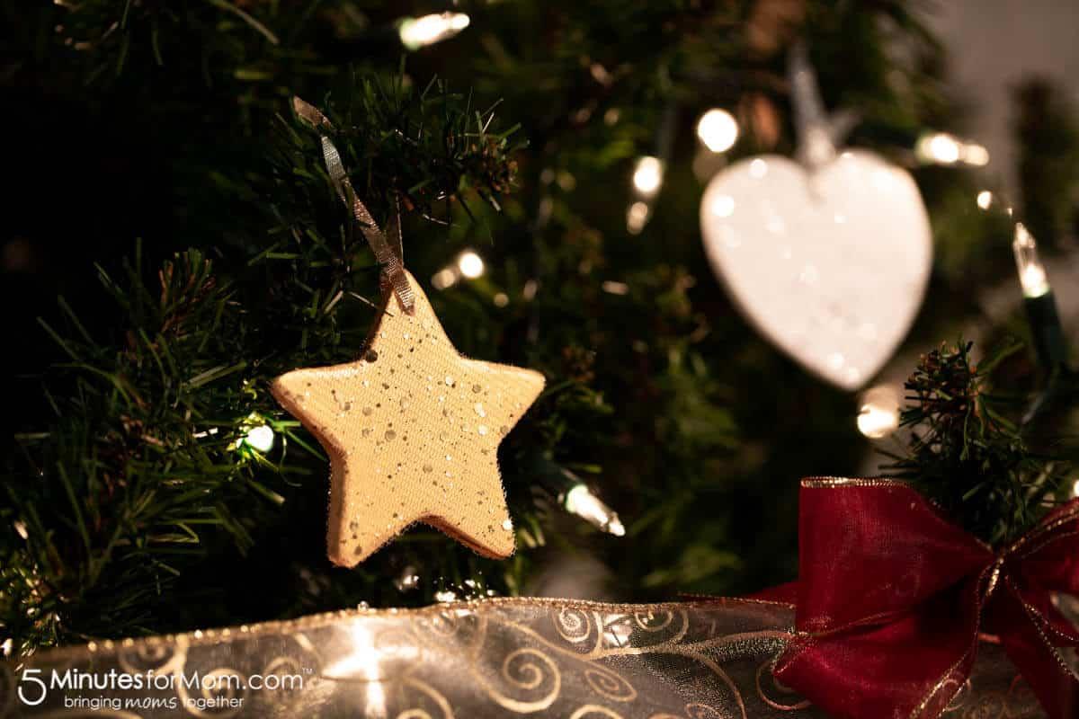 DIY Foam Core Christmas Ornaments