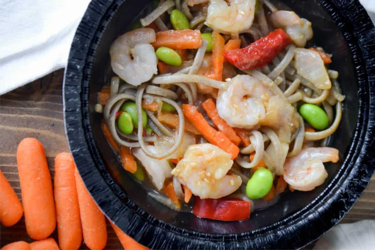 Gortons Shrimp Bowls - Soba Noodles