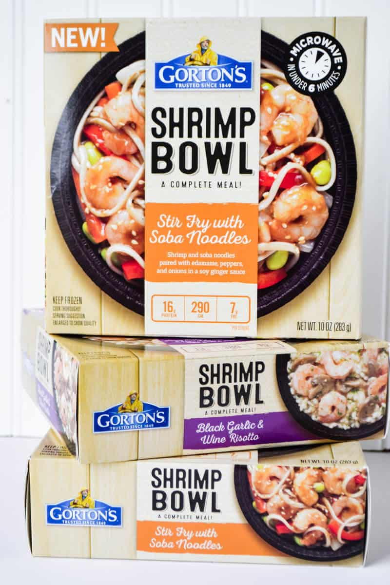Gortons Shrimp Bowls