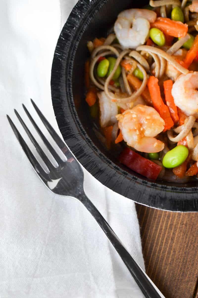 Quick Dinner - Gortons Shrimp Bowl