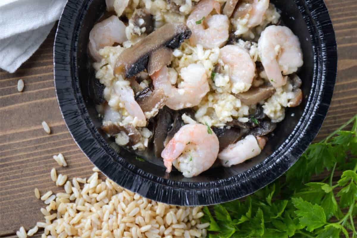 Risotto - Gortons Shrimp Bowl