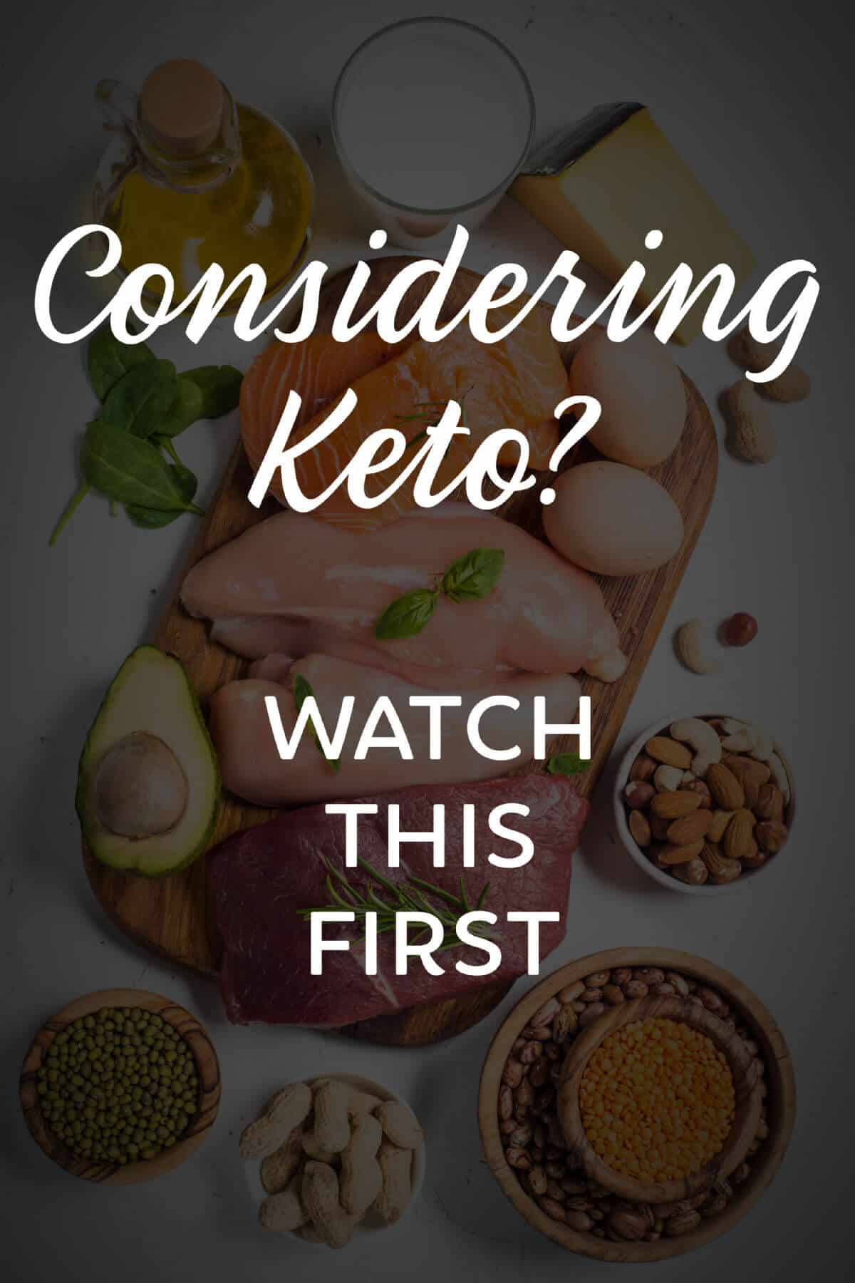 Considering Keto - Watch This First - Find Out More About The Keto Diet #ad #keto #diet #ketodiet
