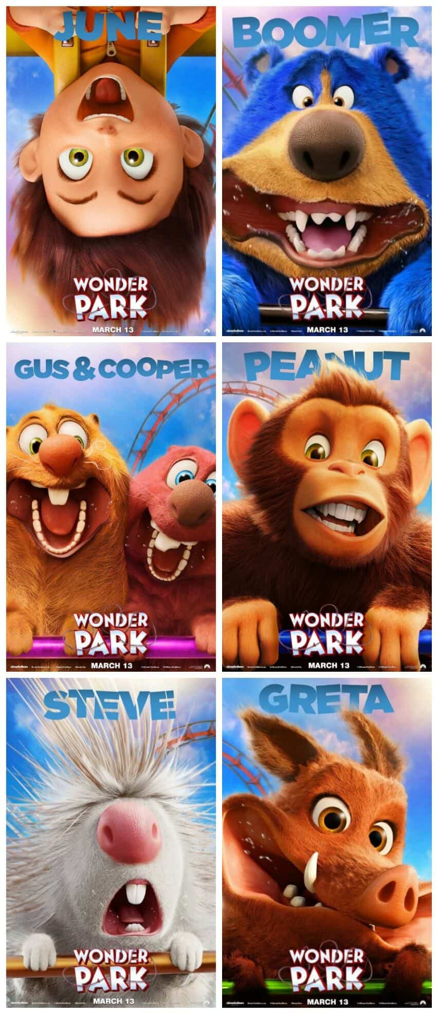 Meet the Wonder Park Characters