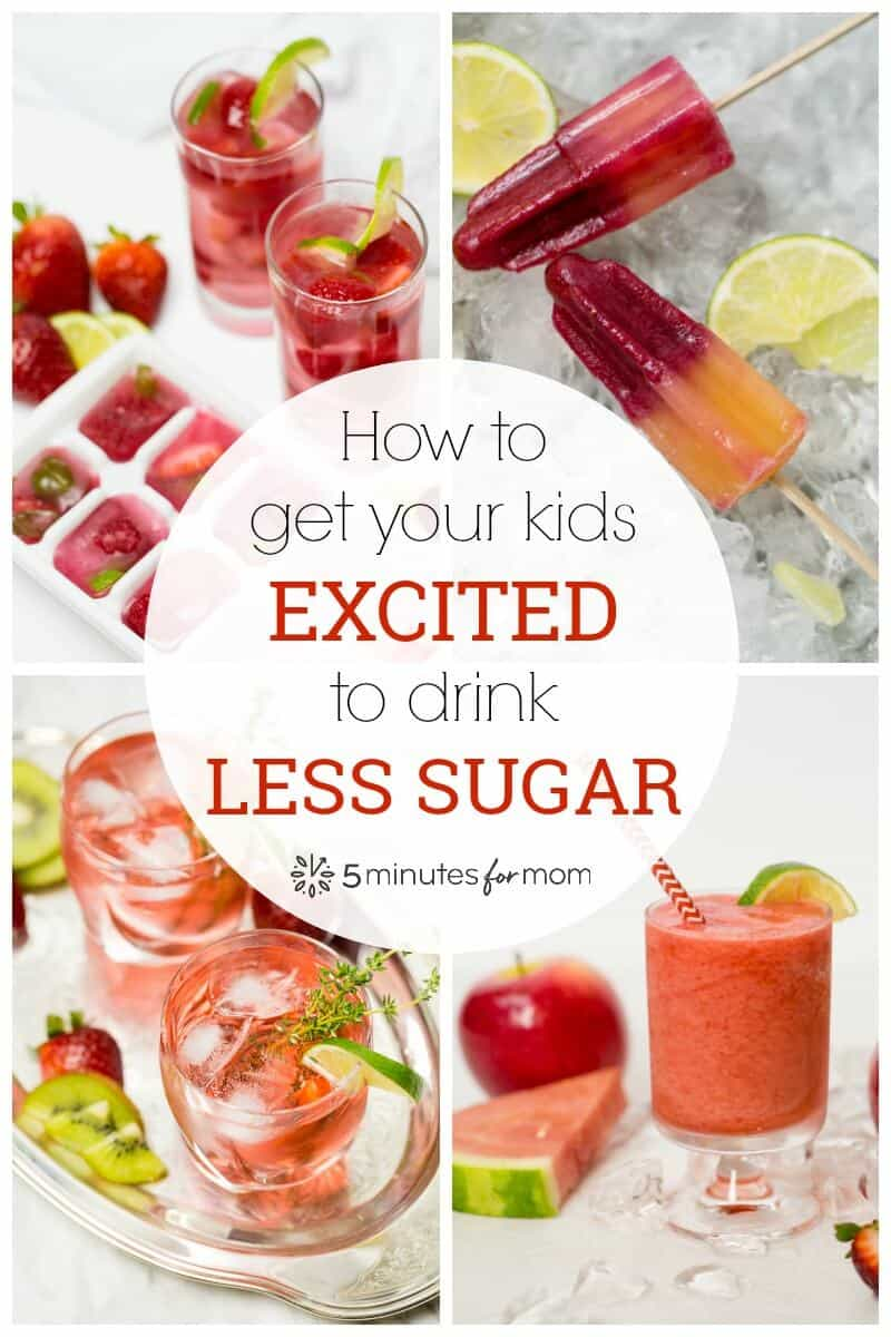 5 Tips To Get Your Kids Drinking Less Sugar