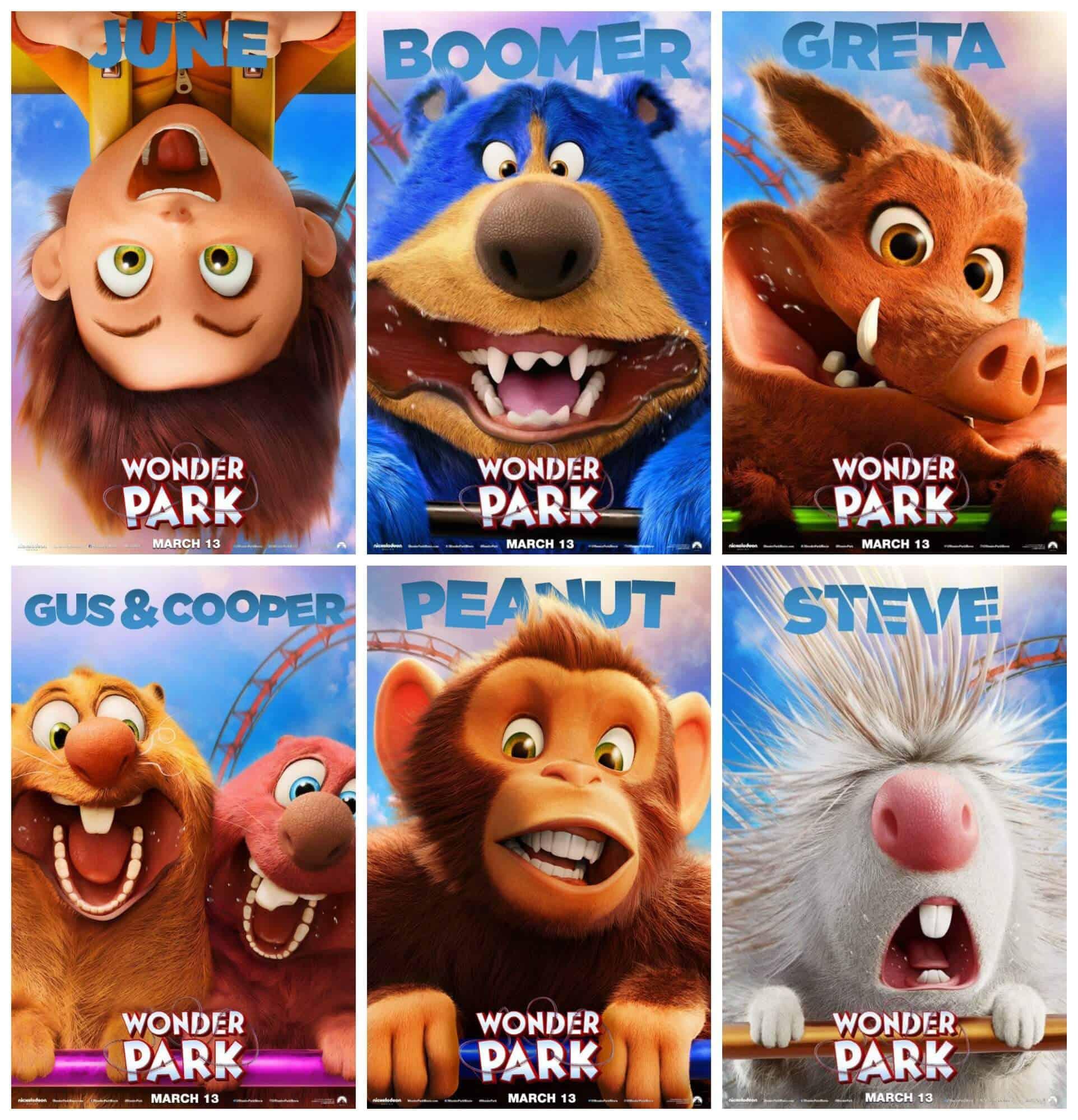 Wonder Park Characters