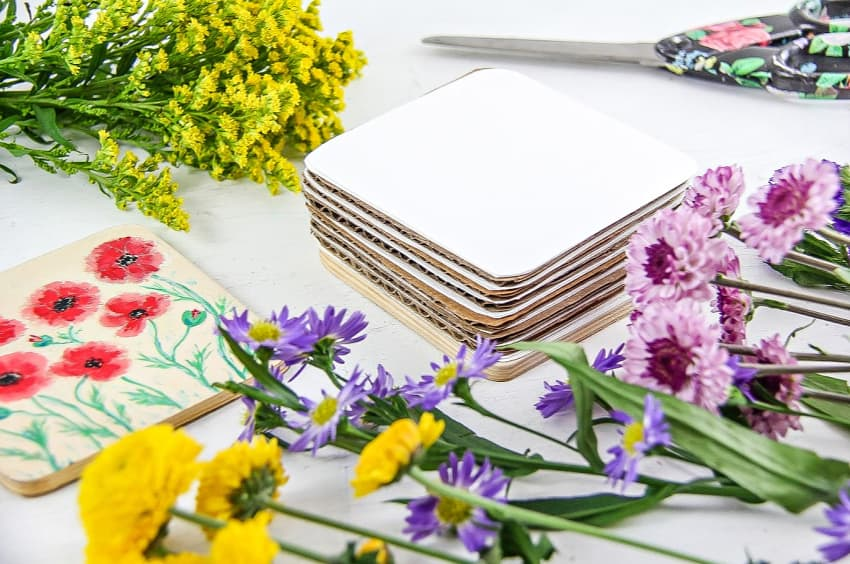 DIY Flower Press - How To Press Flowers