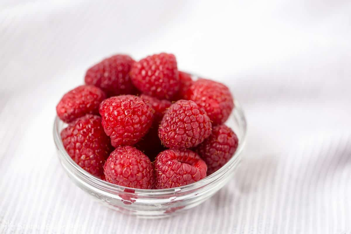 Fresh Raspberries - How to make a Raspberry Coulis