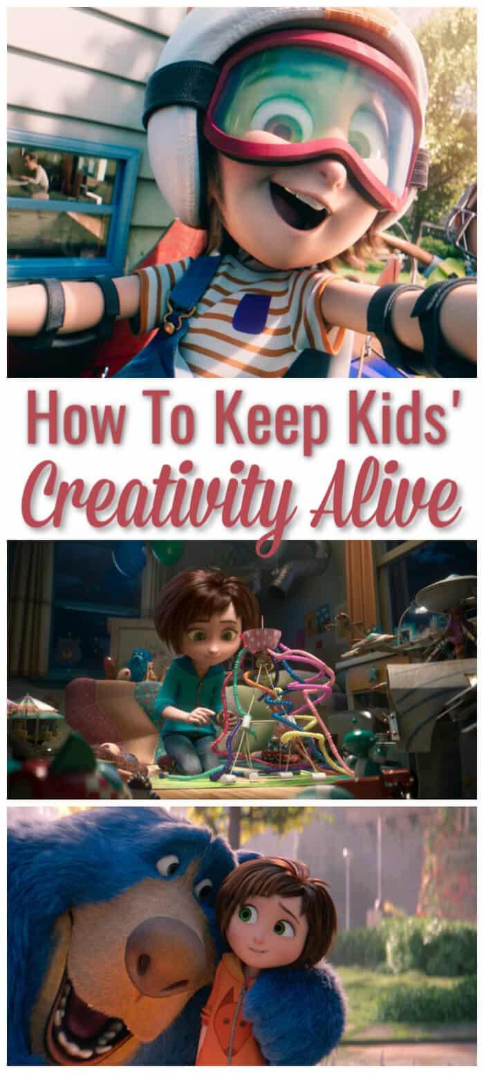 How To Keep Kids Creativity Alive