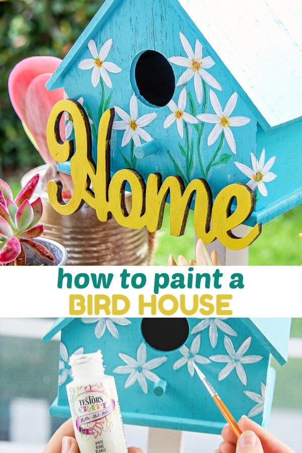 Painted Birdhouses Easy Spring Craft Idea 5 Minutes For Mom