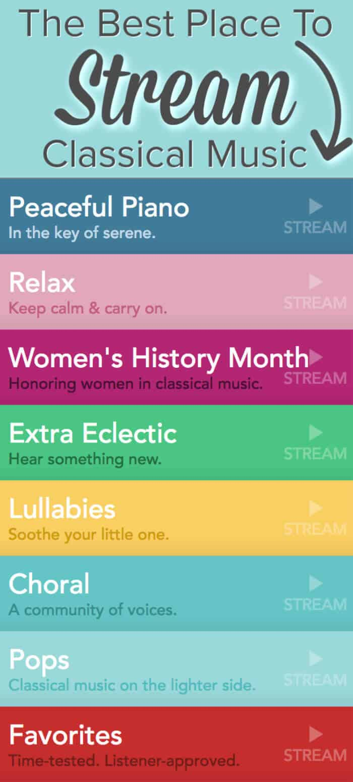 The Best Place To Stream Classical Music - Free Playlists #classicalmusic #playlists