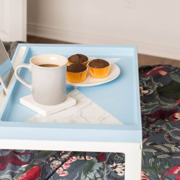 IKEA Hack Breakfast Tray DIY – Perfect Mother's Day Gift Idea
