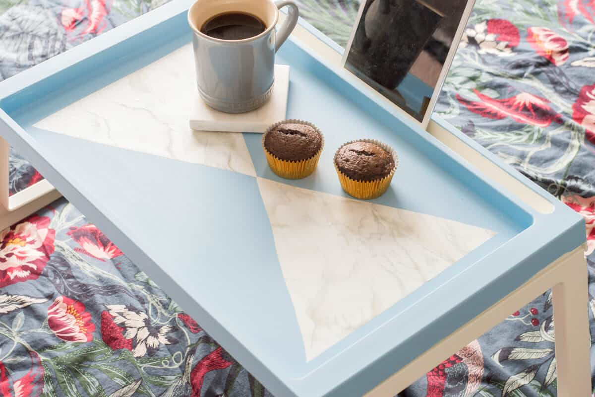 IKEA Hack Breakfast Tray DIY - Easy DIY Gift