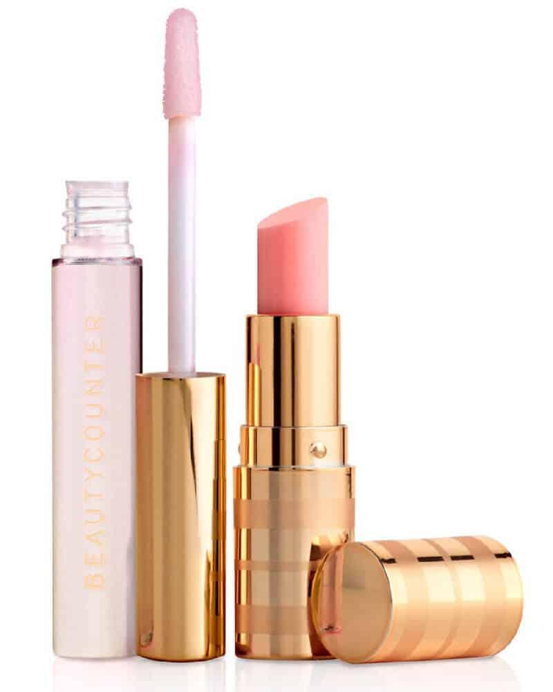 Beautycounter Lip Tint and Lip Gloss