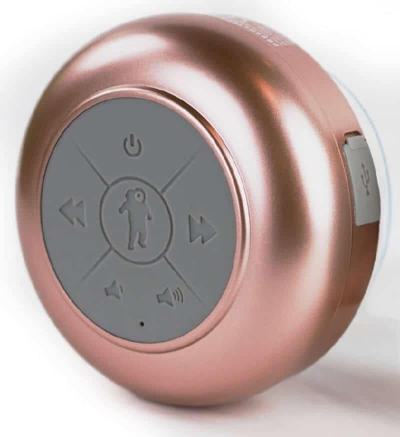 rose gold bluetooth waterproof speaker
