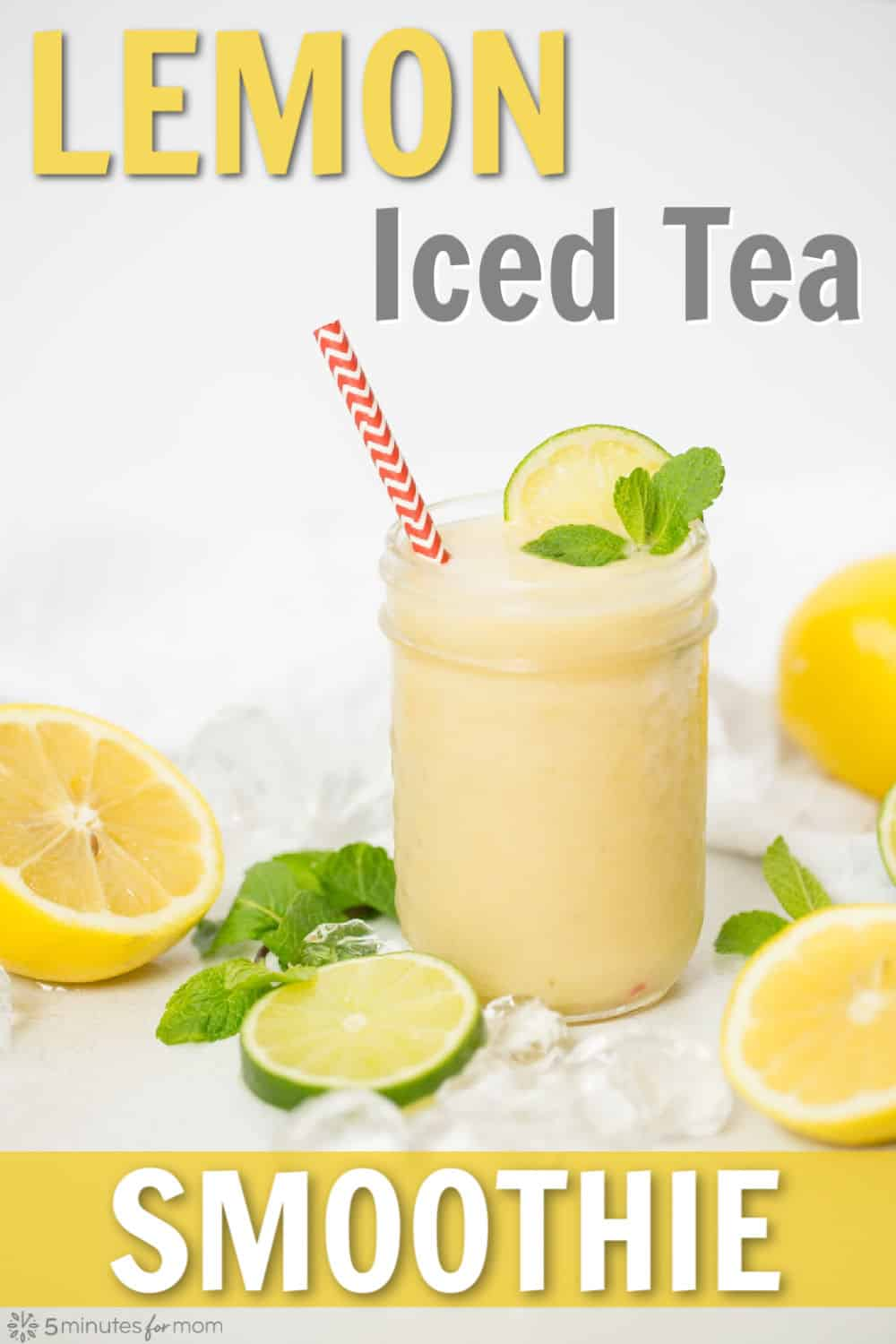 Lemon Iced Tea Smoothie Recipe