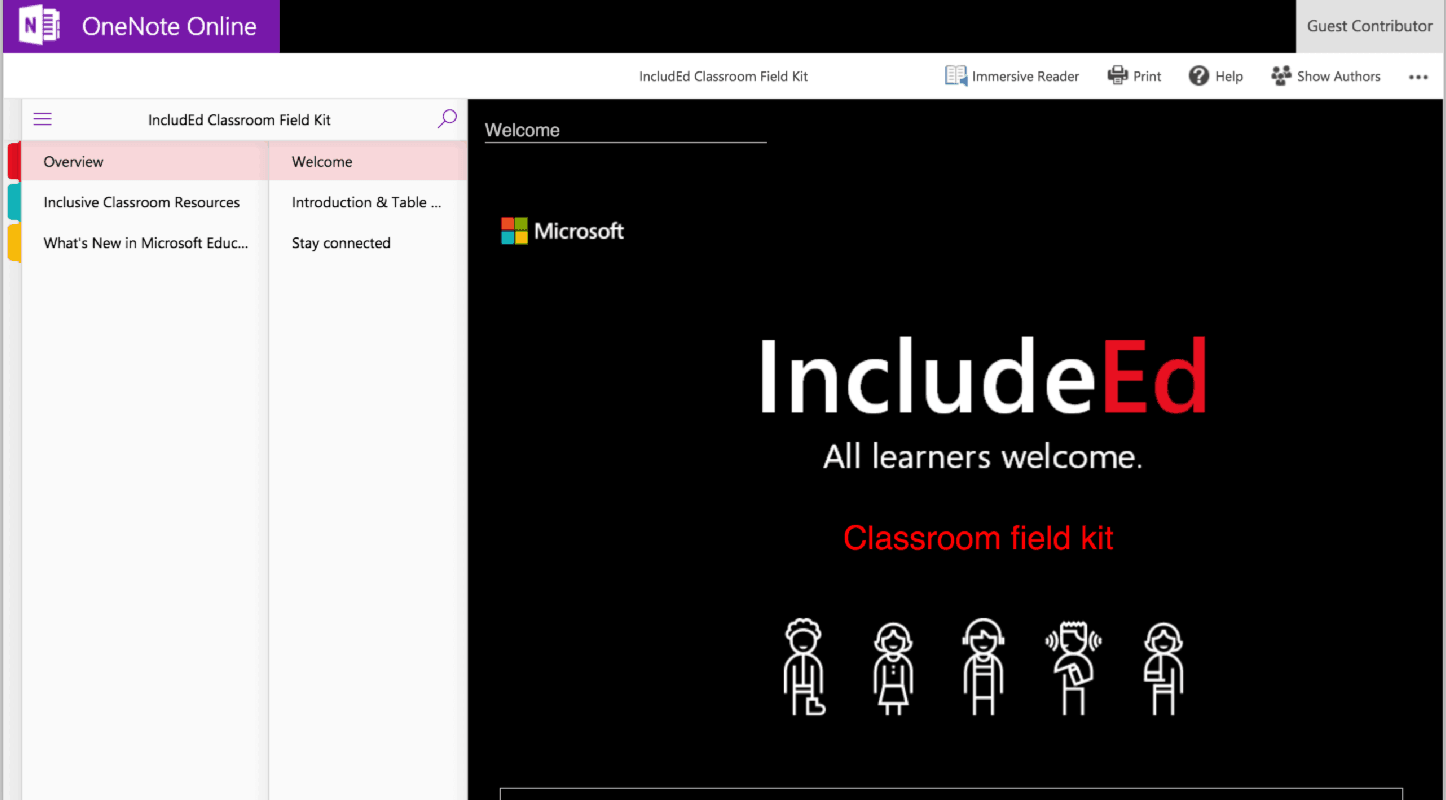 Microsoft IncludEd Classroom Field Kit