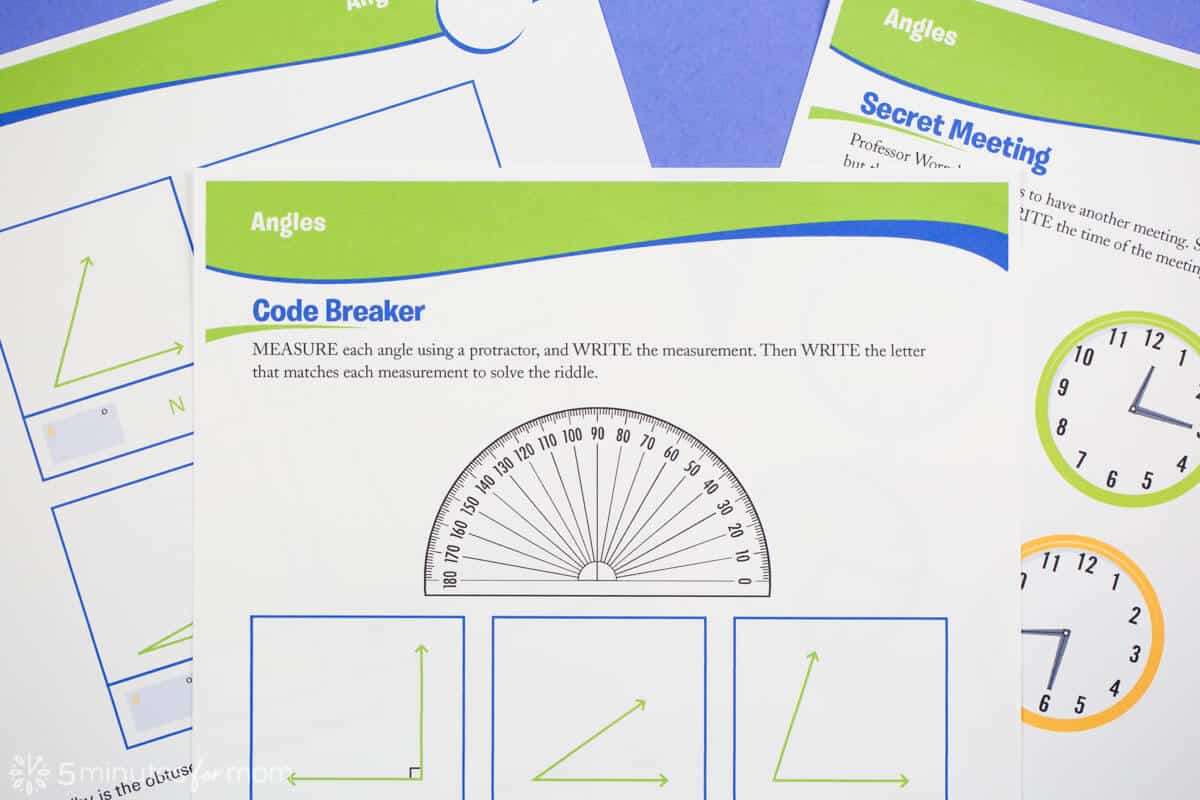 Math Worksheets from Sylvan Nation