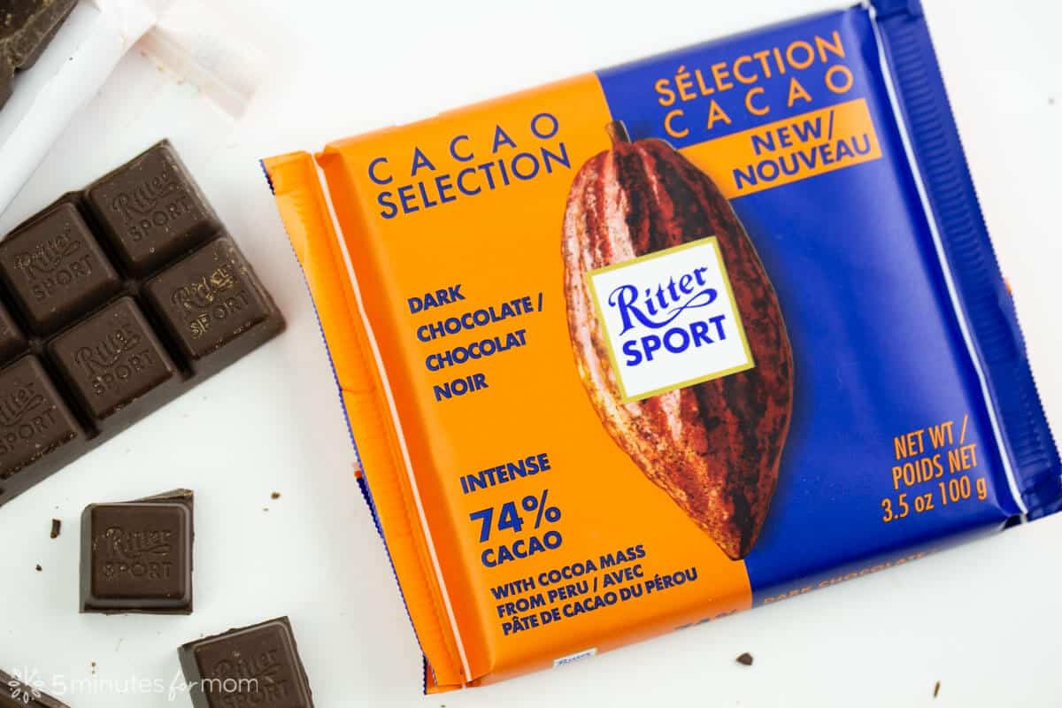 single origin chocolate by Ritter Sport