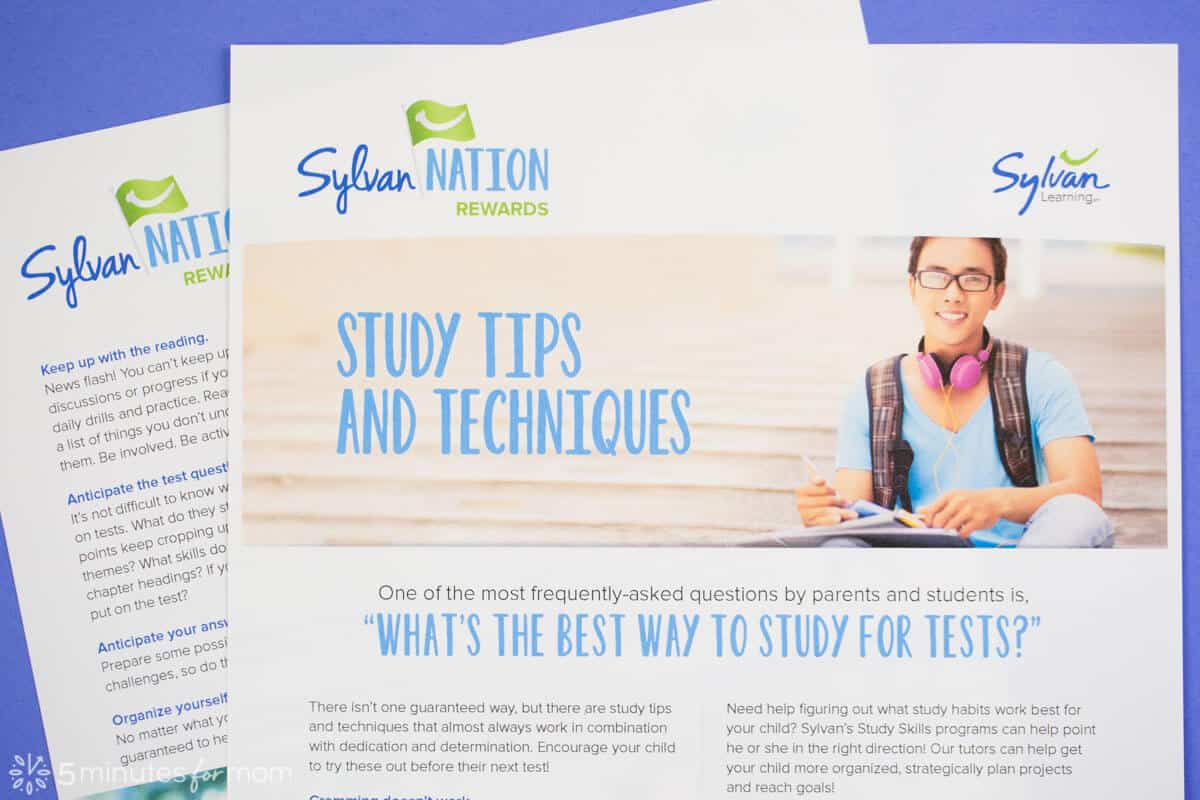 Study Guide from Sylvan Learning