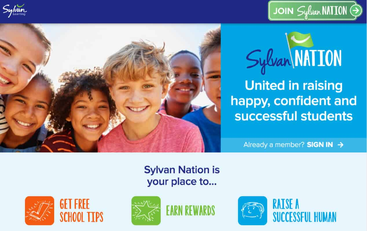 Sylvan Nation Rewards Program