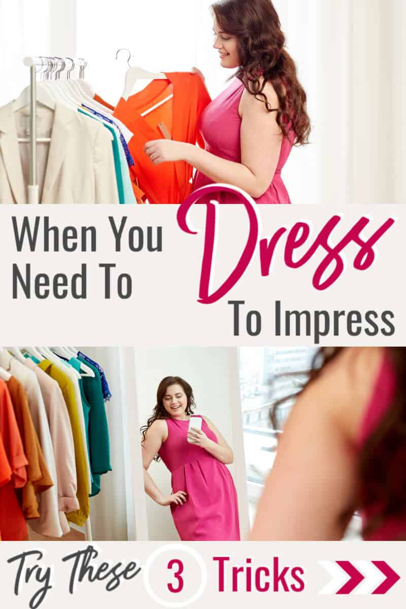 When you need to dress to impress, try these wardrobe tips... #womensfashion #fashionover40