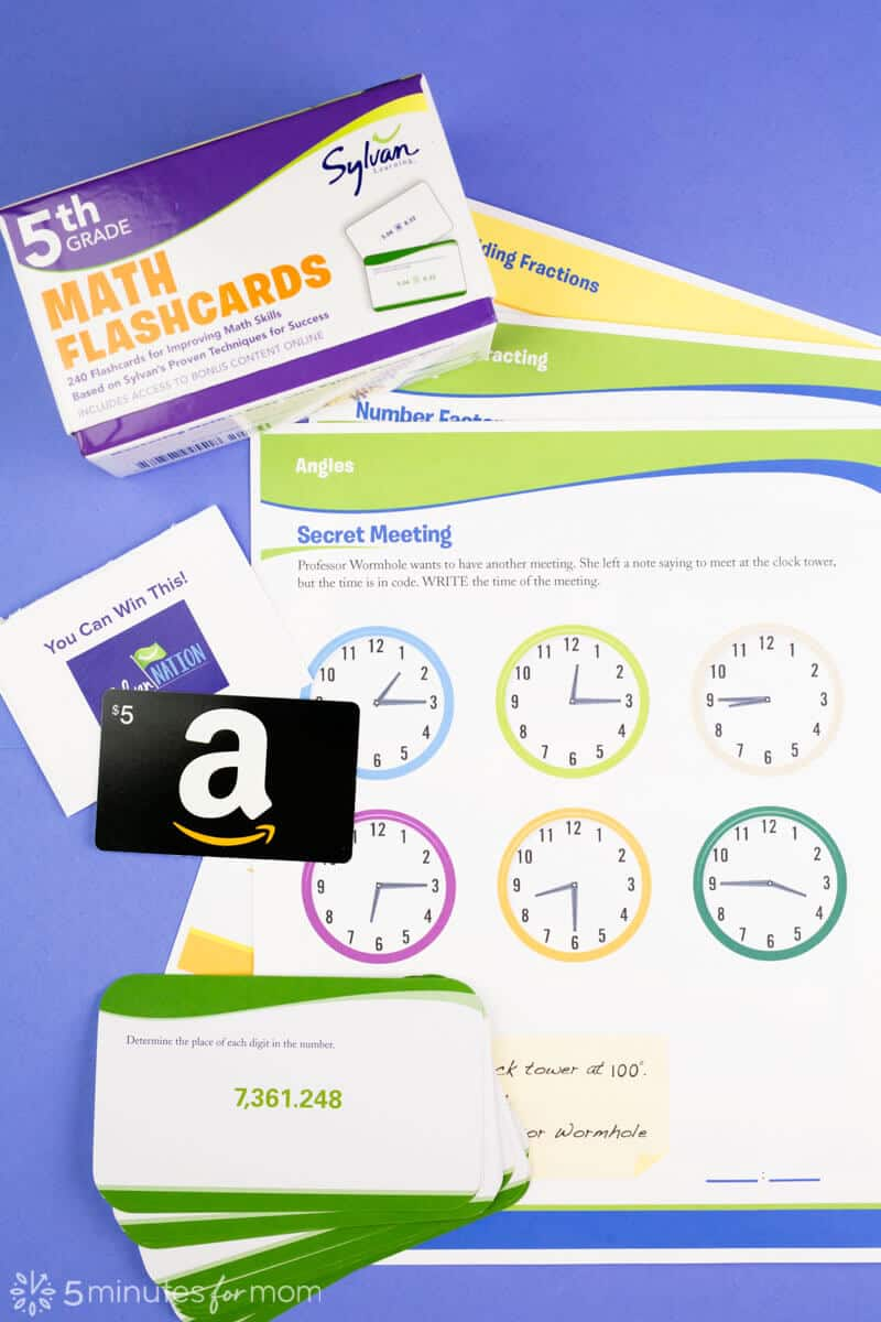 Worksheets - Printables - Flashcards -Sylvan Nation Rewards
