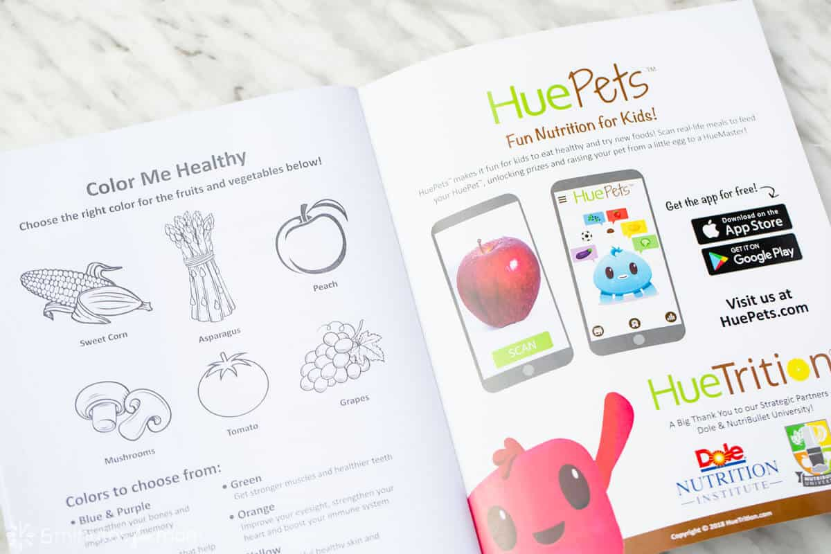HueTrition Coloring Book