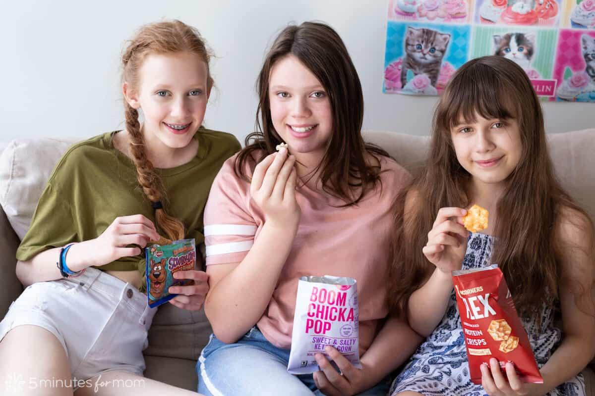 Kids Eating Fun Snacks