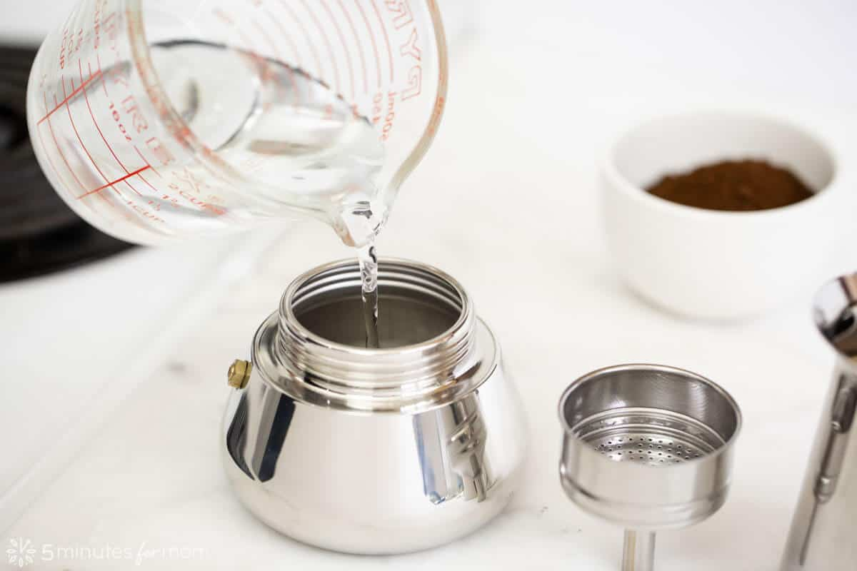 How to make espresso at home with an Italian Coffee Maker