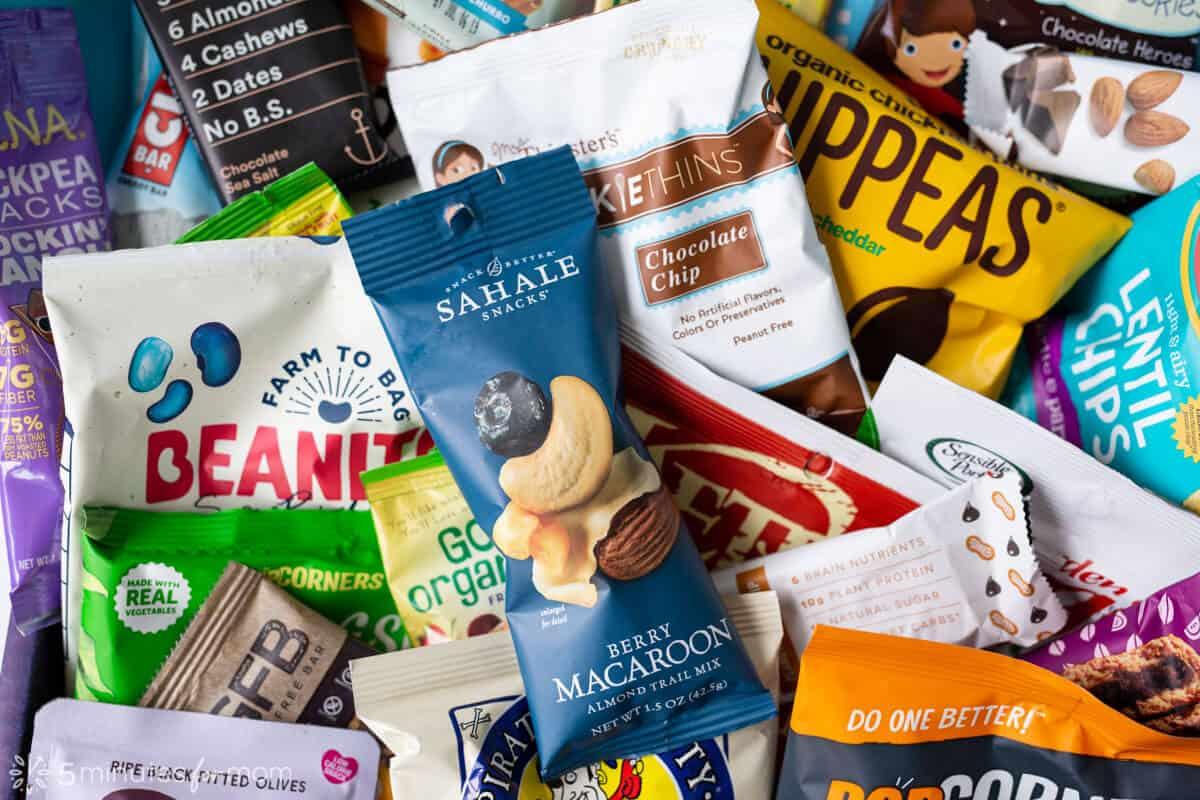Sahale Snacks Berry Macaroon Almond Trail Mix