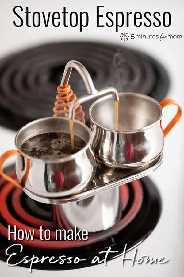 Stovetop Espresso - How to make Espresso at Home