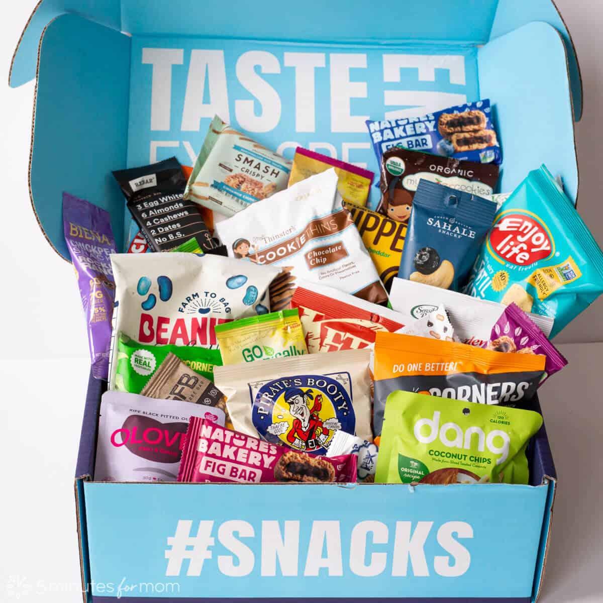 Variety Fun Snack Box - Open