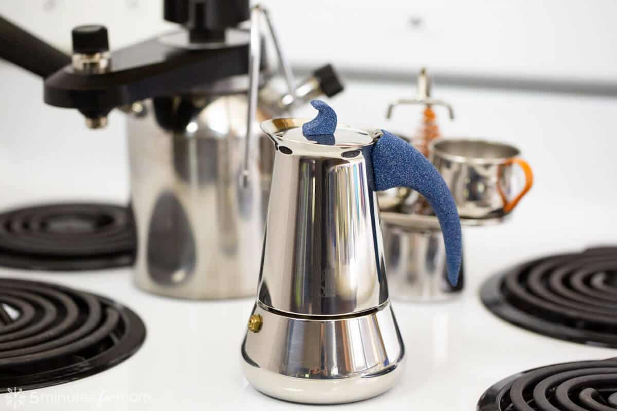 Stainless Steel Stove Top Espresso Maker