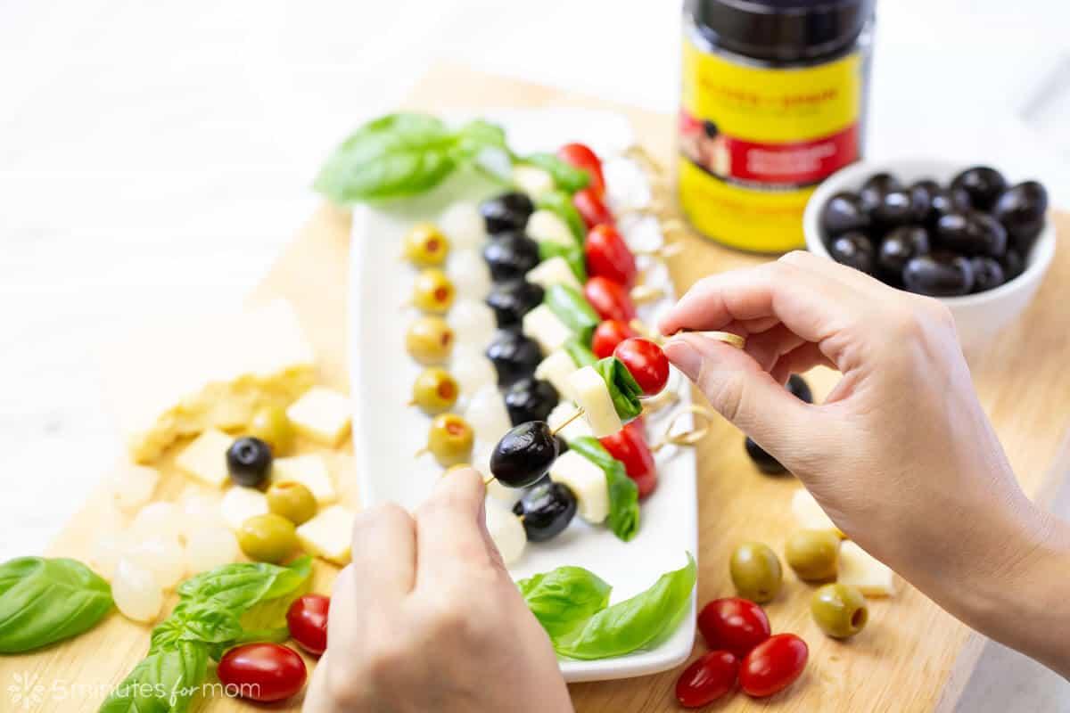 Olive Appetizer Skewers
