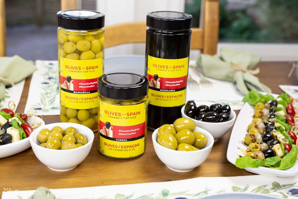 Olives from Spain - Hojiblanca, Manzanilla, Gordal
