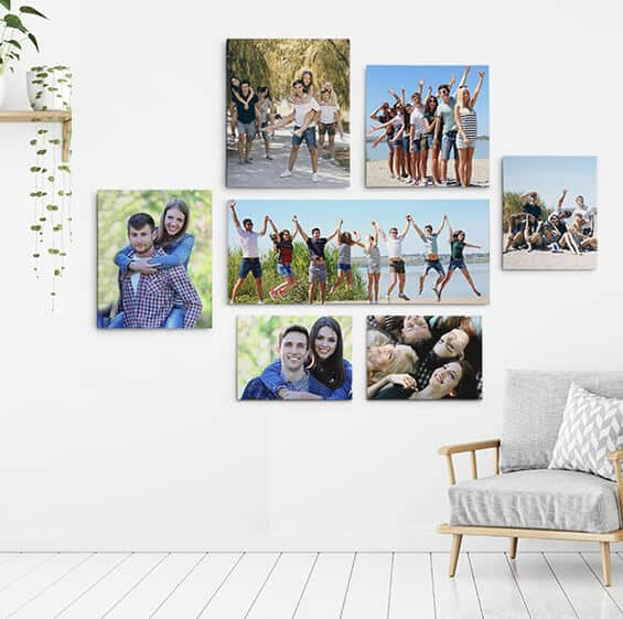 Canvas Wall Print Layout
