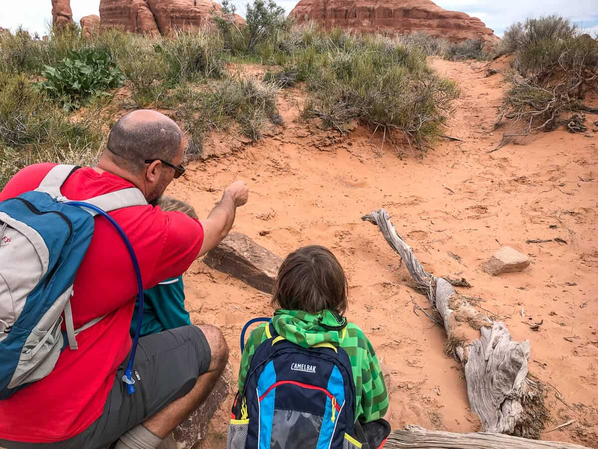 Full Time RV Living - Homeschooling at Arches National Park