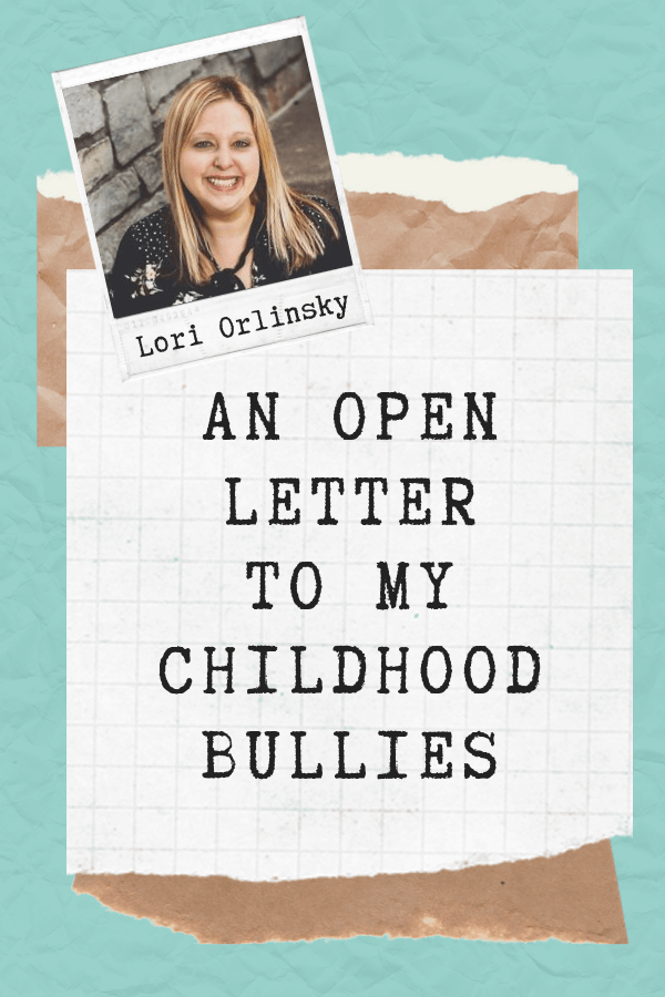 Letter to Bullies