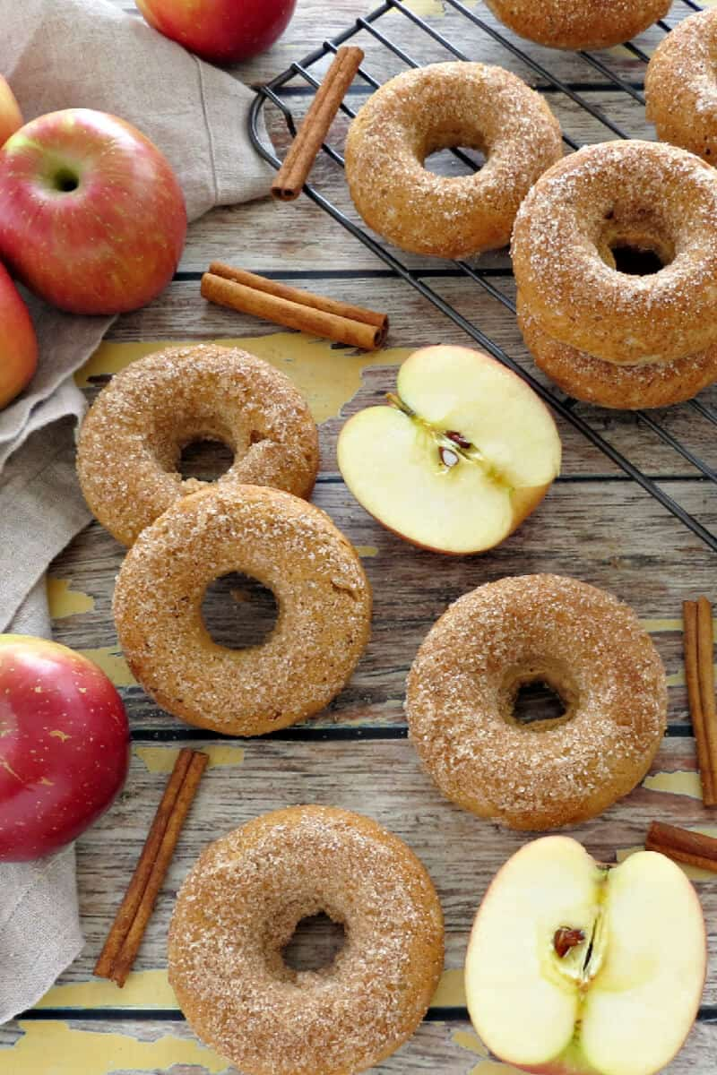 Apple Cinnamon Donuts Recipe