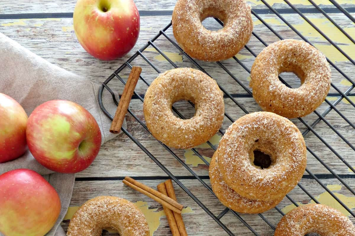 Apple Cinnamon Donuts