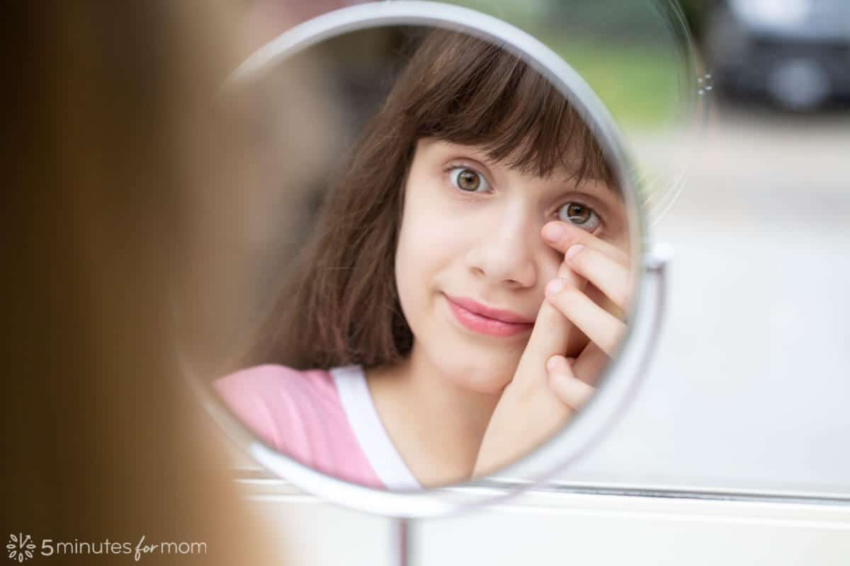 Contact Lens Tips - Kids Wearing Contacts
