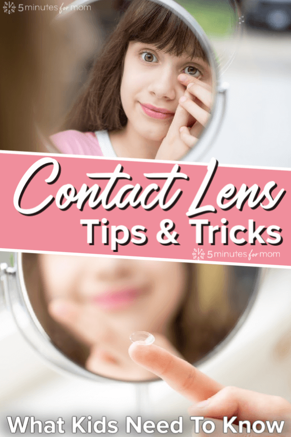 Contact Lens Tips and Tricks - What Kids Need To Know