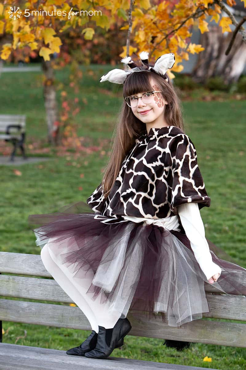 DIY Giraffe Costume