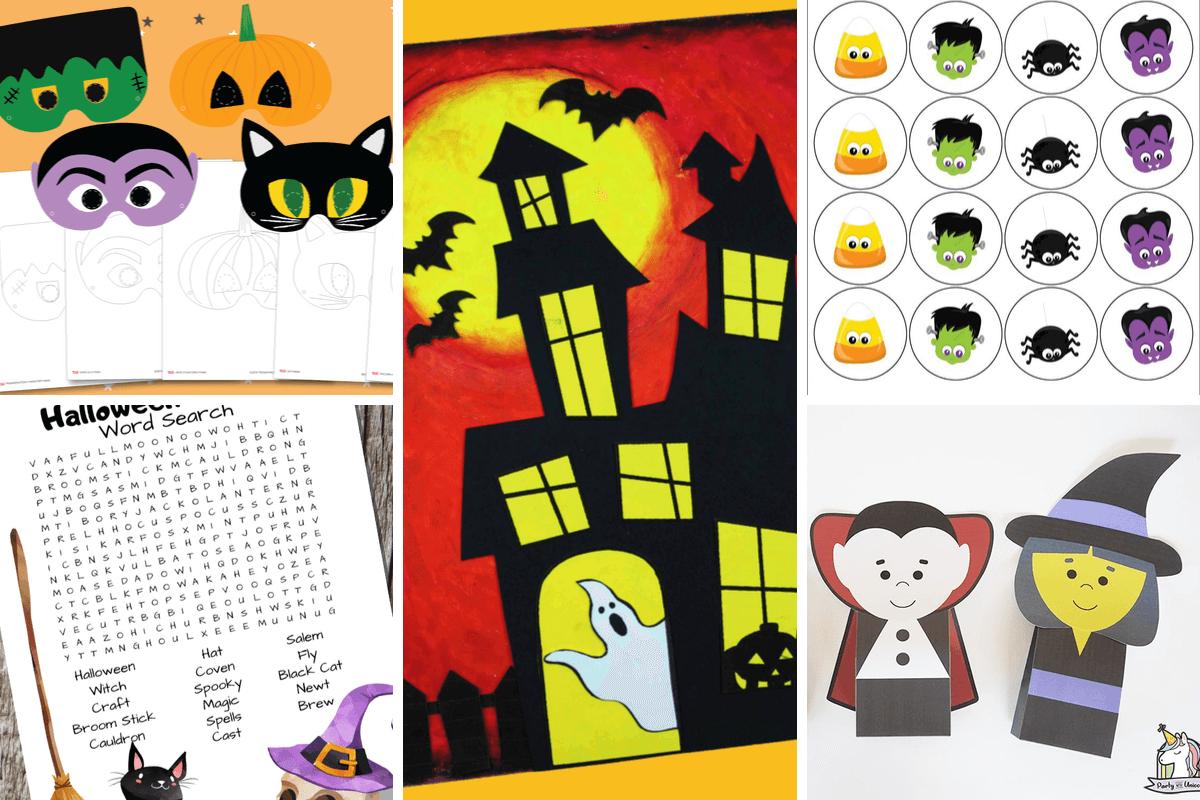 Free Halloween Printables Set 1