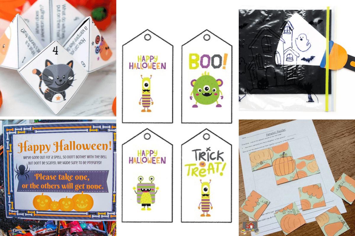 Free Halloween Printables Set 2